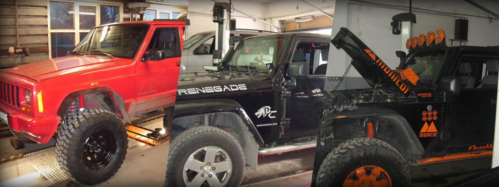 jeep serwis